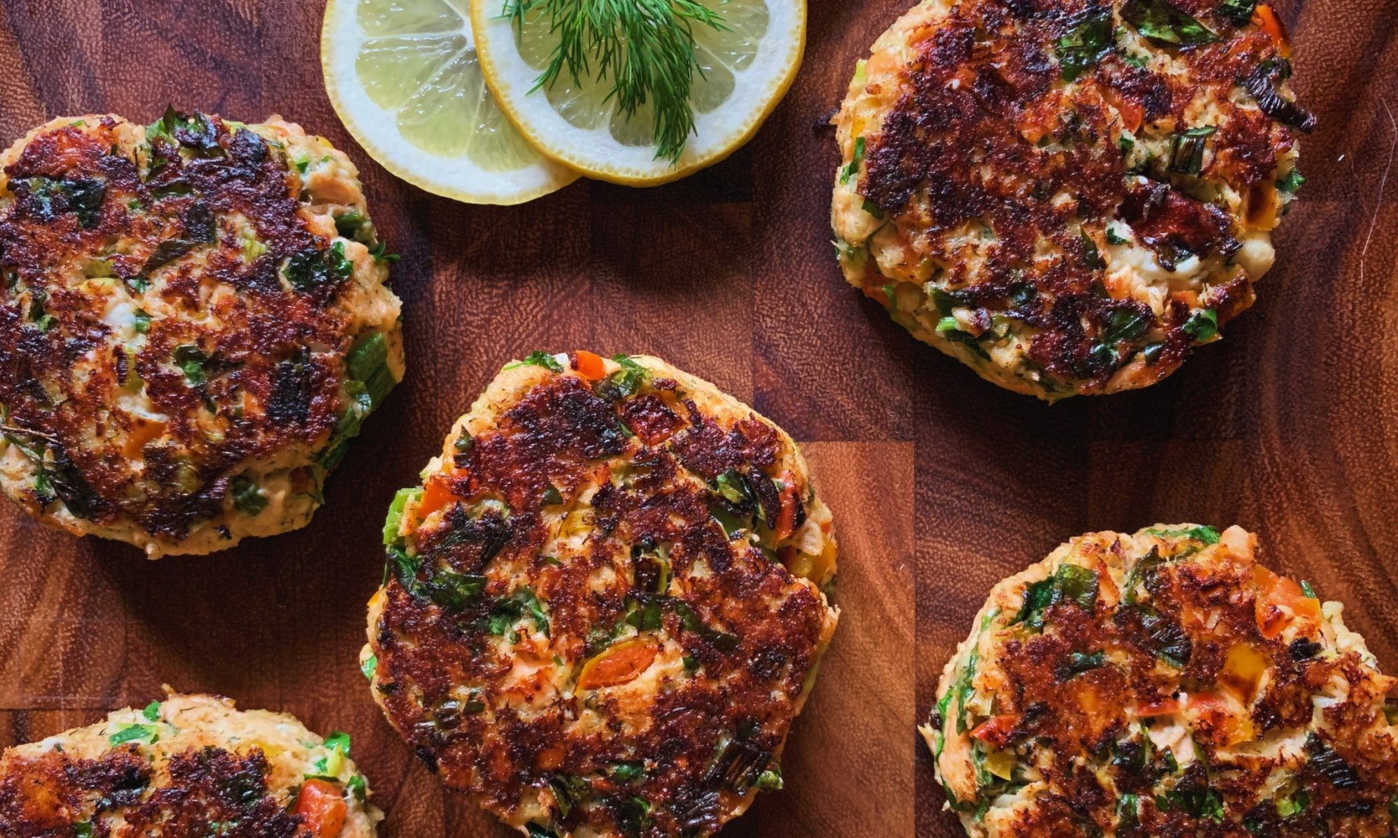 Greek Salmon Cakes